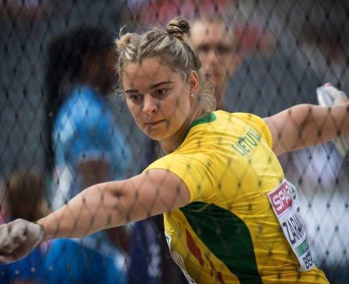 Ieva Zarankaitė ketvirtą kartą šiemet gerino asmeninį rekordą