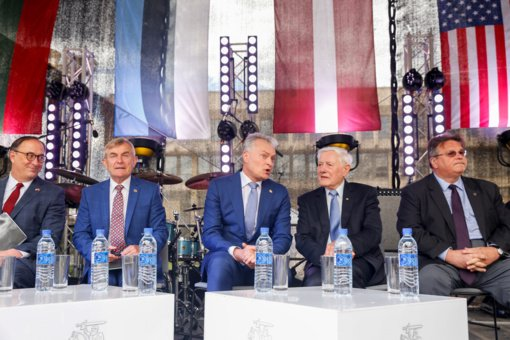 G. Nausėda: Lietuvą ir JAV sieja ypatingas ryšys