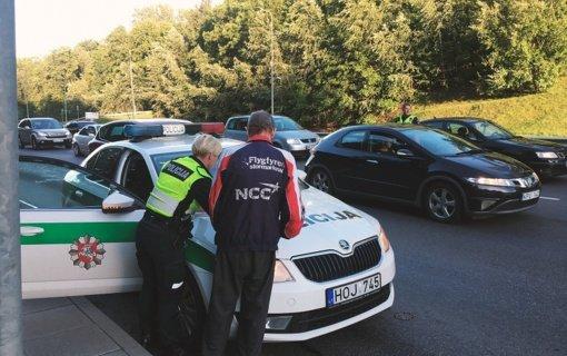 Įžanga į savaitgalį – neblaivūs vairuotojai Kauno mieste