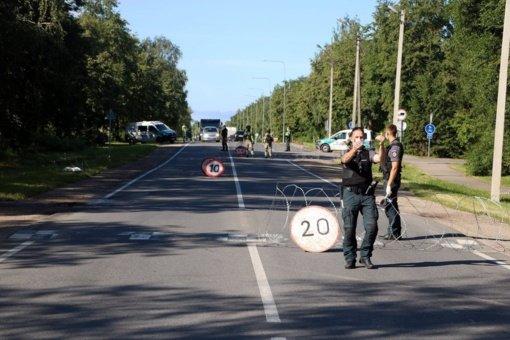Policijos pareigūnai paaiškino, kodėl šįryt tikrino panevėžiečius vairuotojus