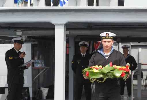Klaipėda ir jos svečiai antrąją Jūros šventės dieną pagerbs žuvusiuosius jūroje