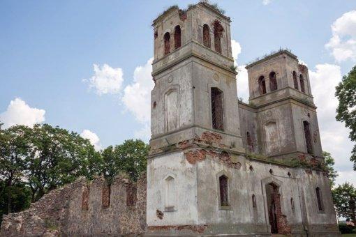 Bartninkų bažnyčios griuvėsiai bus išsaugoti