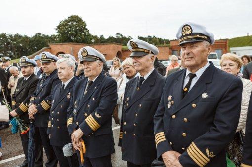 Jūros šventės metu pagerbti jūrinės ir uosto bendruomenės atstovai