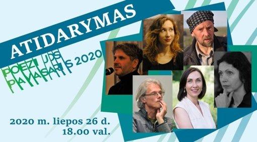 """Vilniuje 56-ąjį kartą prasideda festivalis """"Poezijos pavasaris"""""""