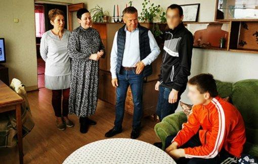 Apsaugotame būste Radviliškyje – pirmieji gyventojai