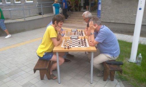 Tarptautinė šachmatų diena buvo paminėta ir Vilkaviškyje