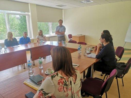 Aptartos nedarbo problemos Lazdijų rajone