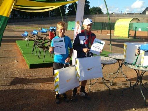 Lukas – Lietuvos U12 dvejetų čempionas