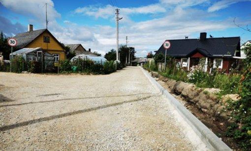 Radviliškio mieste ir rajone – gatvių tvarkymo darbai