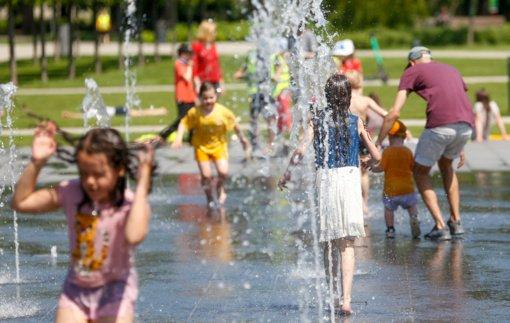 Lukiškių aikštės fontanas užterštas fekaliniais mikroorganizmais