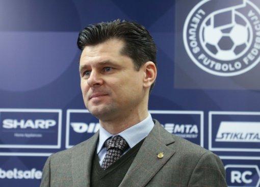 Lietuvos futbolo federacijai ir toliau vadovaus T. Danilevičius