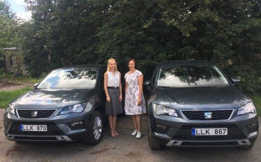 Ukmergės PSPC įsigijo du naujus lengvuosius automobilius