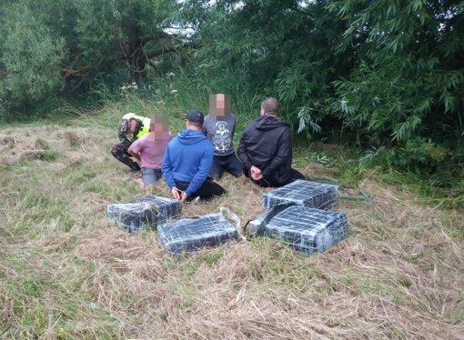 Švenčionių rajone į pasieniečių pasalą pateko keturi kontrabandininkai