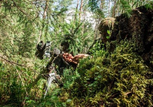 Vilniaus rajone vyks karių orientavimosi miške pratybos