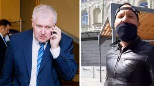 Maža Seimo nario užpuolimo kaina: A. Anušauską su šeima užpuolęs vyras – nenubaustas
