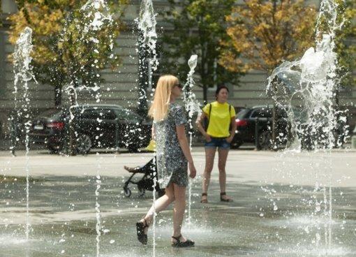 Orai: Lietuvoje – karščiu alsuojantis savaitgalis