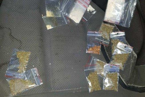Baudžiamoji byla dėl Čiužiakampio kaime sulaikyto narkotikus gabenusio gyventojo perduota teismui