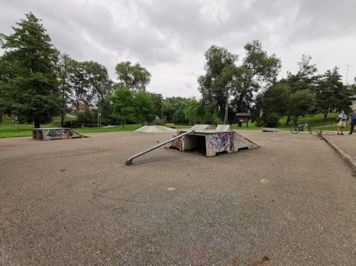 Jurbarko riedlenčių parkas bus atnaujinamas bendradarbiaujant su jaunimu