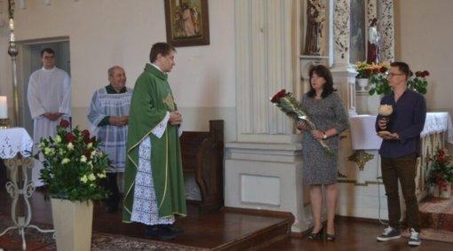 Musninkuose ir Kernavėje tarnystę pradėjo kunigas Marius Talutis