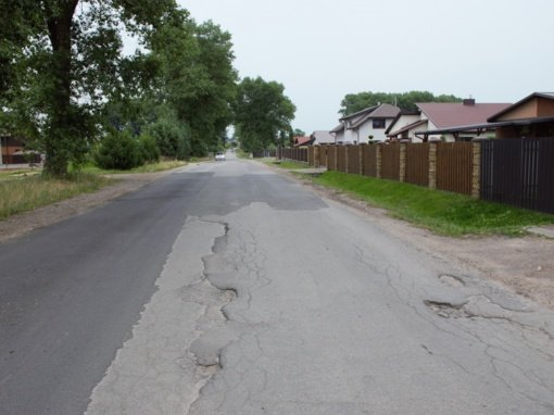 Bus atnaujinamos dvi Panevėžio gatvės