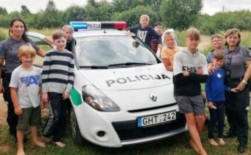 Širvintų rajono policijos komisariato bendruomenės pareigūnės – policijos ambasadorės