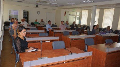 Posėdžiavo Kontrolės komitetas