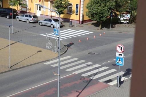 Susirūpino eismo dalyvių saugumu Lazdijuose