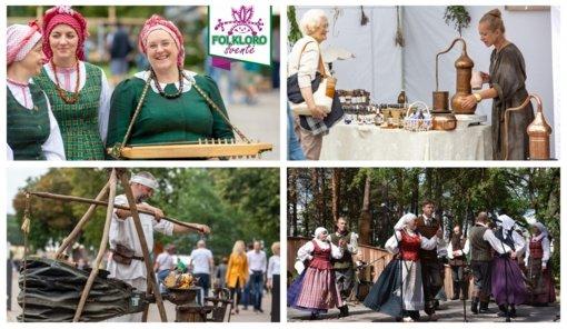 27-oji folkloro šventė Druskininkuose: tradicijas paįvairins šiuolaikiniai sąskambiai