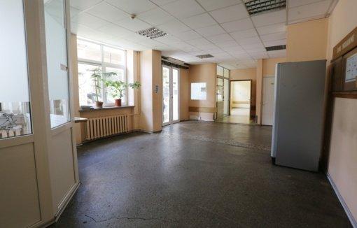 Ligoninės Priėmimo-skubios pagalbos skyriuje – remonto darbai
