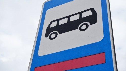 Tarpmiestinis autobusas sustos Bebrininkuose