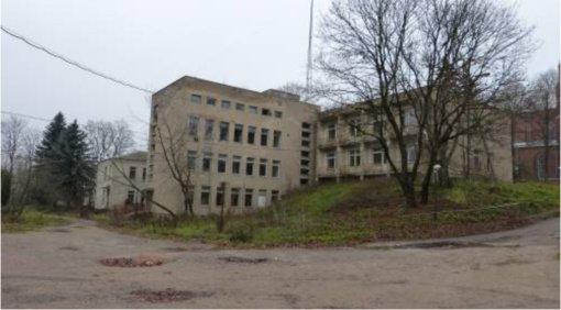 Senosios ligoninės pastatai vis dar tebėra areštuoti