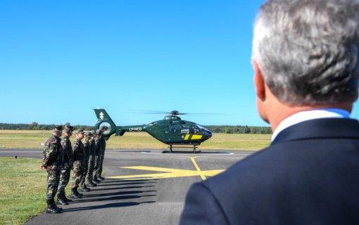 Pasieniečius į tarptautinę misiją išlydėjo šalies Prezidentas