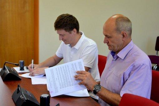 Pasirašyta statybos rangos sutartis dėl Kultūros centro remonto darbų