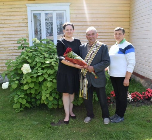 Čiobiškio seniūnijoje gyvenančiam Steponui Pavasariui – 90