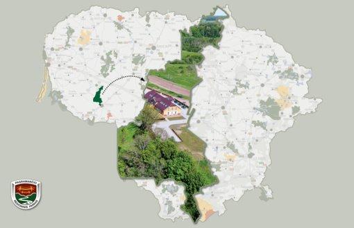 Pagramančio regioninis parkas: nuo Jūros netoli iki Indijos