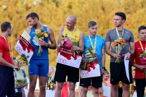 Lietuvos pirmenybėse – čempiono titulas Danui Sodaičiui ir asmeniniai disko metikų rekordai