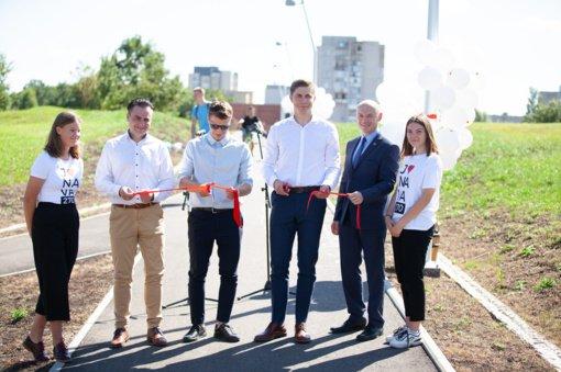 Rimkuose atidarytas naujas dviračių takas ir Chemikų gatvės jungtis