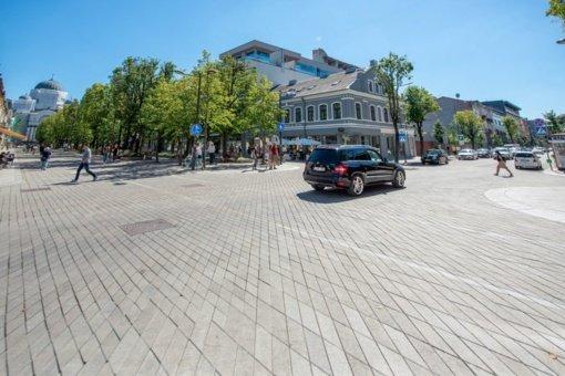 Nuo pirmadienio A. Mickevičiaus gatvė – nepravažiuojama