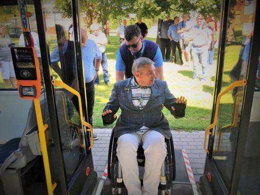 Ar viešasis transportas draugiškas neįgaliesiems?