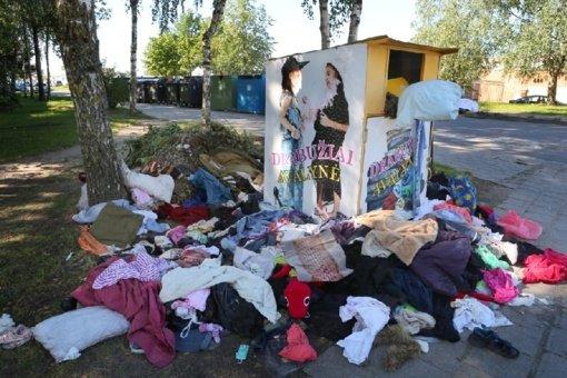 Panevėžyje vaizdo kameromis stebės atliekų surinkimo konteinerių aikštelės