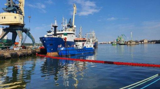 Nustatinėjamos taršos Klaipėdos uosto akvatorijoje priežastys ir šaltinis