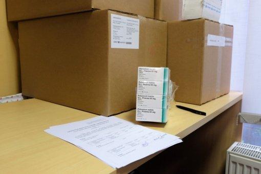 Elektrėnų savivaldybės gyventojams pradedamos dalyti kalio jodido tabletės