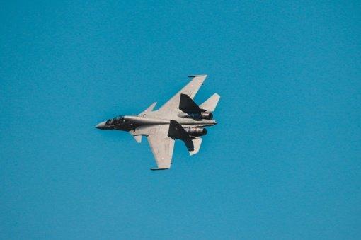 NATO naikintuvai praėjusią savaitę tris kartus lydėjo Rusijos karinius orlaivius