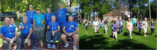 Radviliškio rajono neįgaliųjų draugijos išvyka į Rokiškį ir Pakruojo sporto šventę