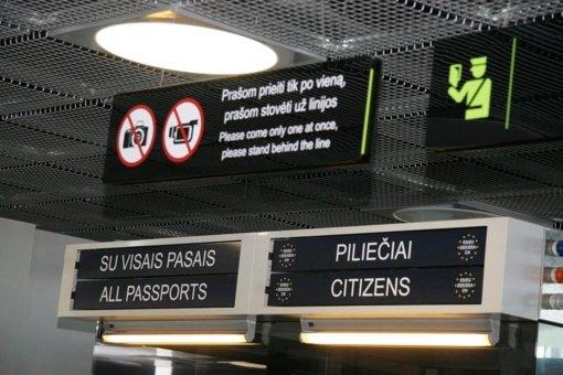 Kauno oro uoste įkliuvo už nusikaltimą nuteistas kėdainiškis