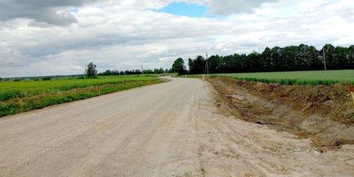 Vykdoma kelio Dotnuva–Valučiai rekonstrukcija