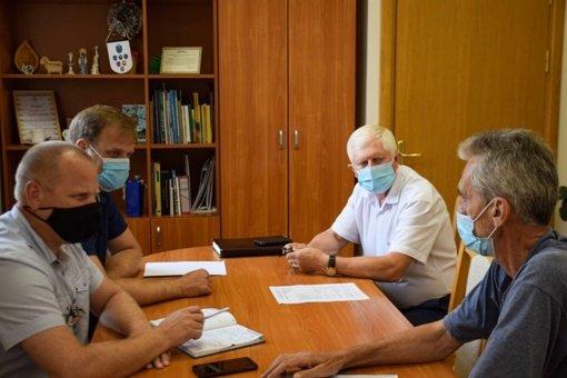 Raseinių rajono savivaldybėje aptarti vykdomų projektų įgyvendinimo klausimai