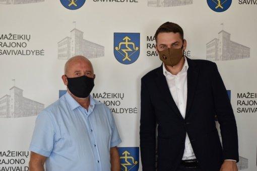 Aptarta Šiaulių prekybos, pramonės ir amatų rūmų veikla Mažeikių rajone