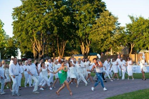 Baltas vasaros piknikas Širvintose spinduliavo gerą nuotaiką ir eleganciją