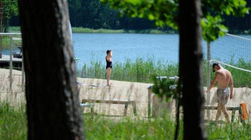 Dailidės ežeruose maudytis saugu